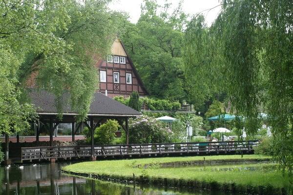 Terrasse Landgasthof Engelmannsbäke Visbek